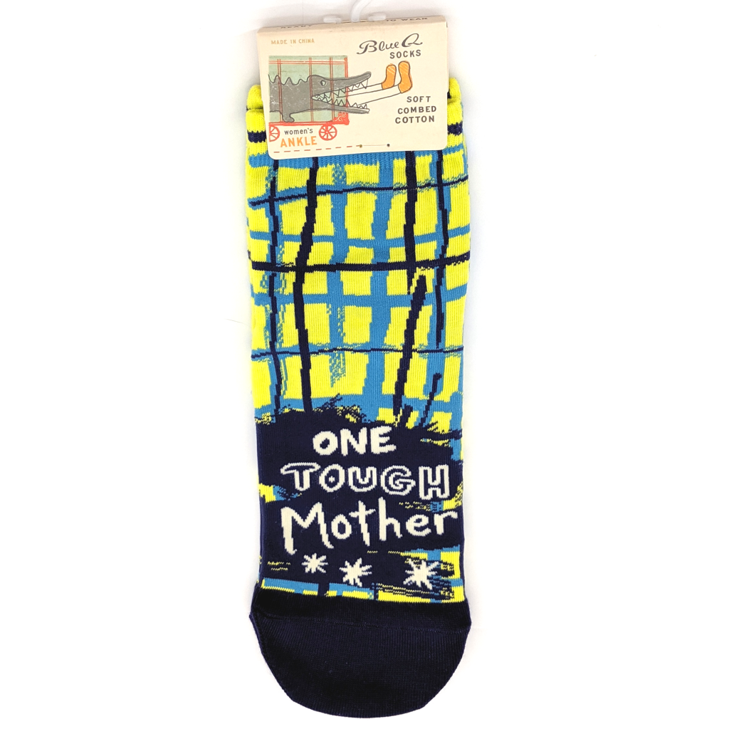 "Blue Q - ""One Tough Mother"" Ankle Socks"