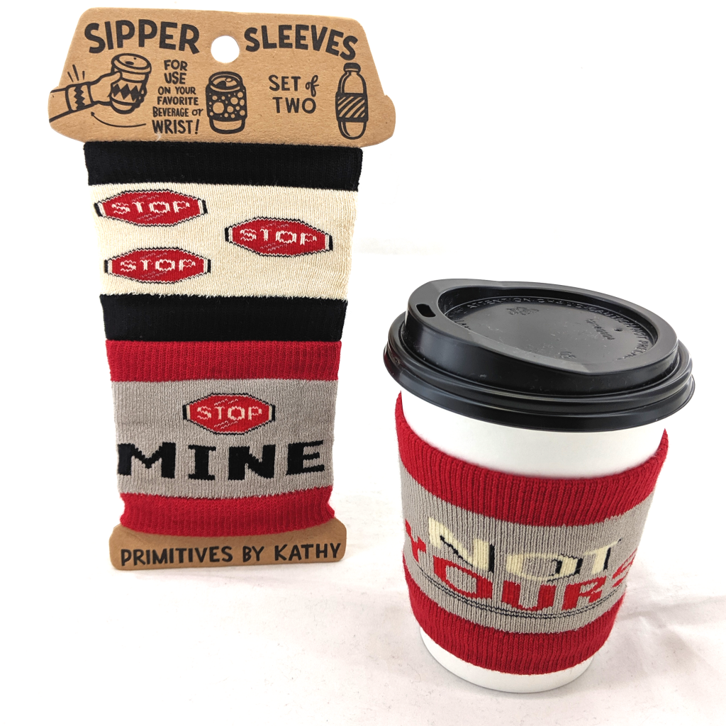 Sipper Sleeves: Stop! Mine, Not Yours