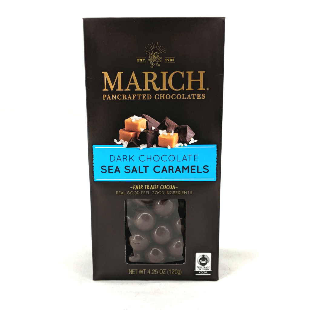 Marich Dark Chocolate Sea Salt Caramels (120g)