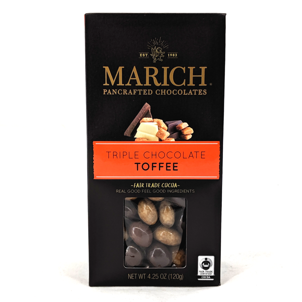 Marich Triple Chocolate Toffee (120g)