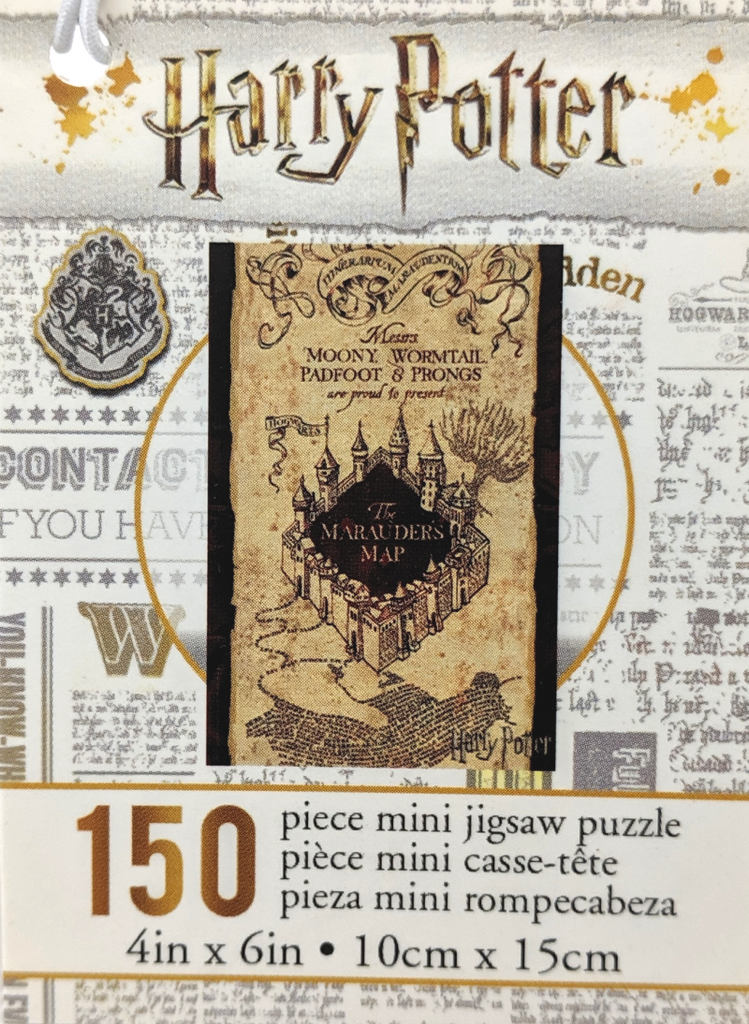 Harry Potter Mini Jigsaw Puzzle: Marauder's Map