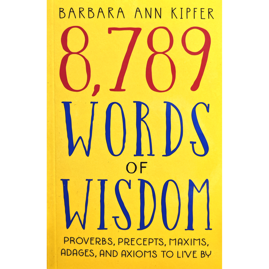 8789 Words of Wisdom