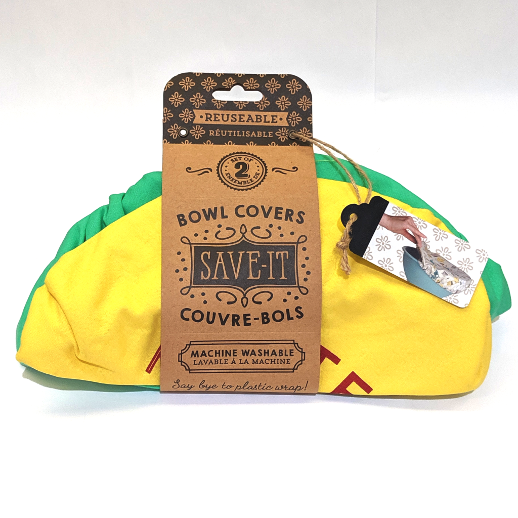 Save-It Reusable Bowl Covers (Set of 2): Better the Next Day