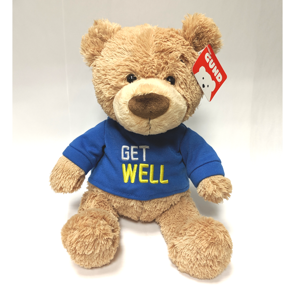 Get Well Bear with Shirt