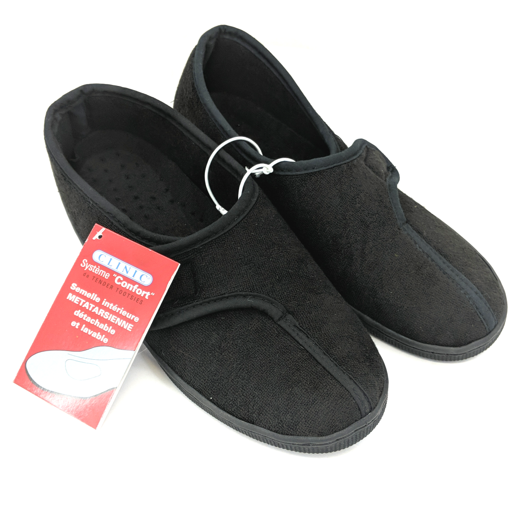 Clinic Comfort Slipper (Black Colour)