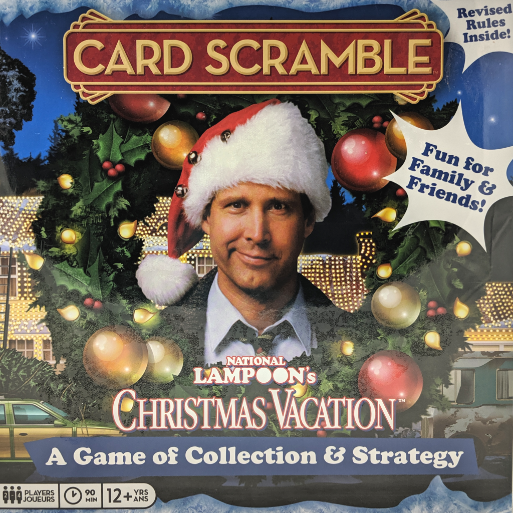 Christmas Vacation Card Scramble Game