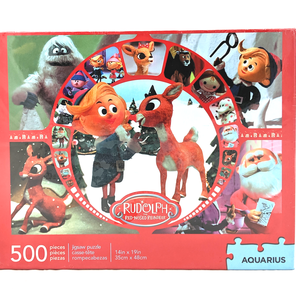 Rudolph the Red-Nosed Reindeer Puzzle