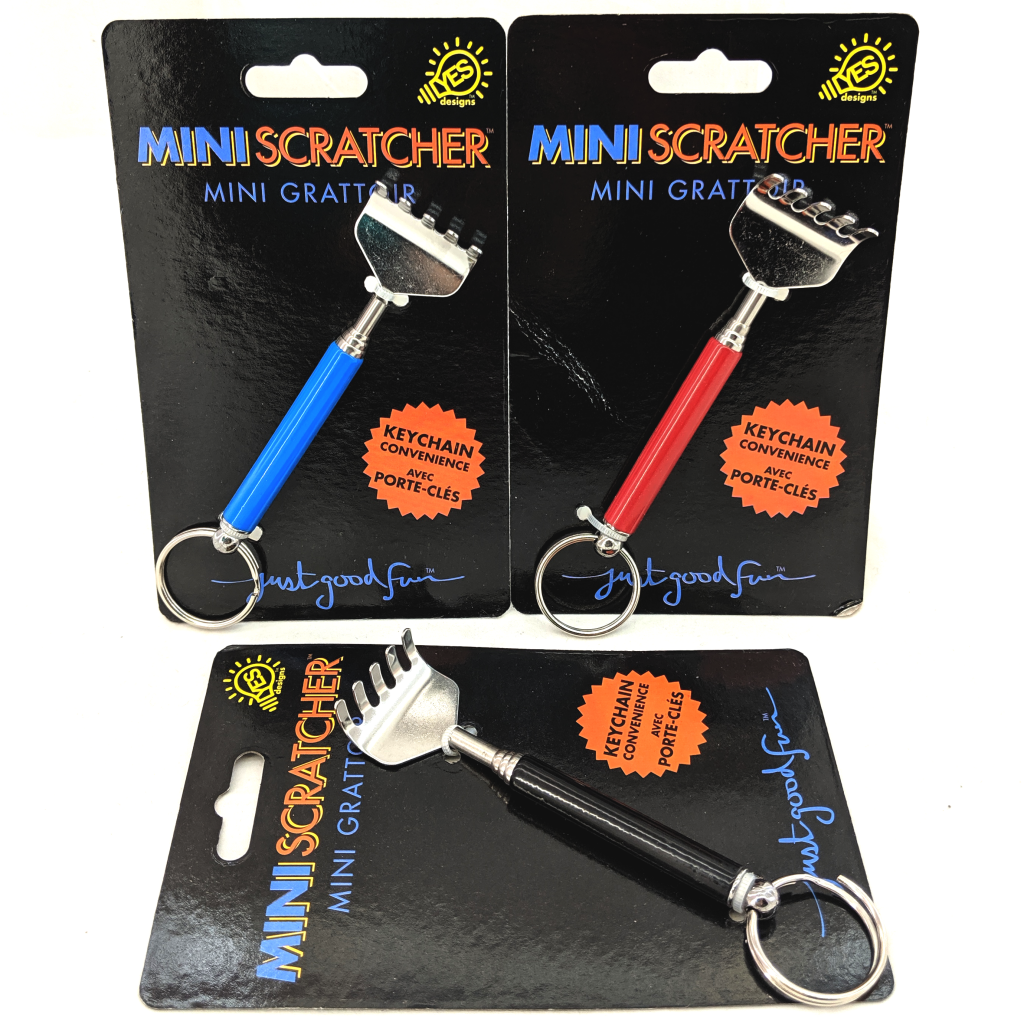 Back Scratcher Keychain