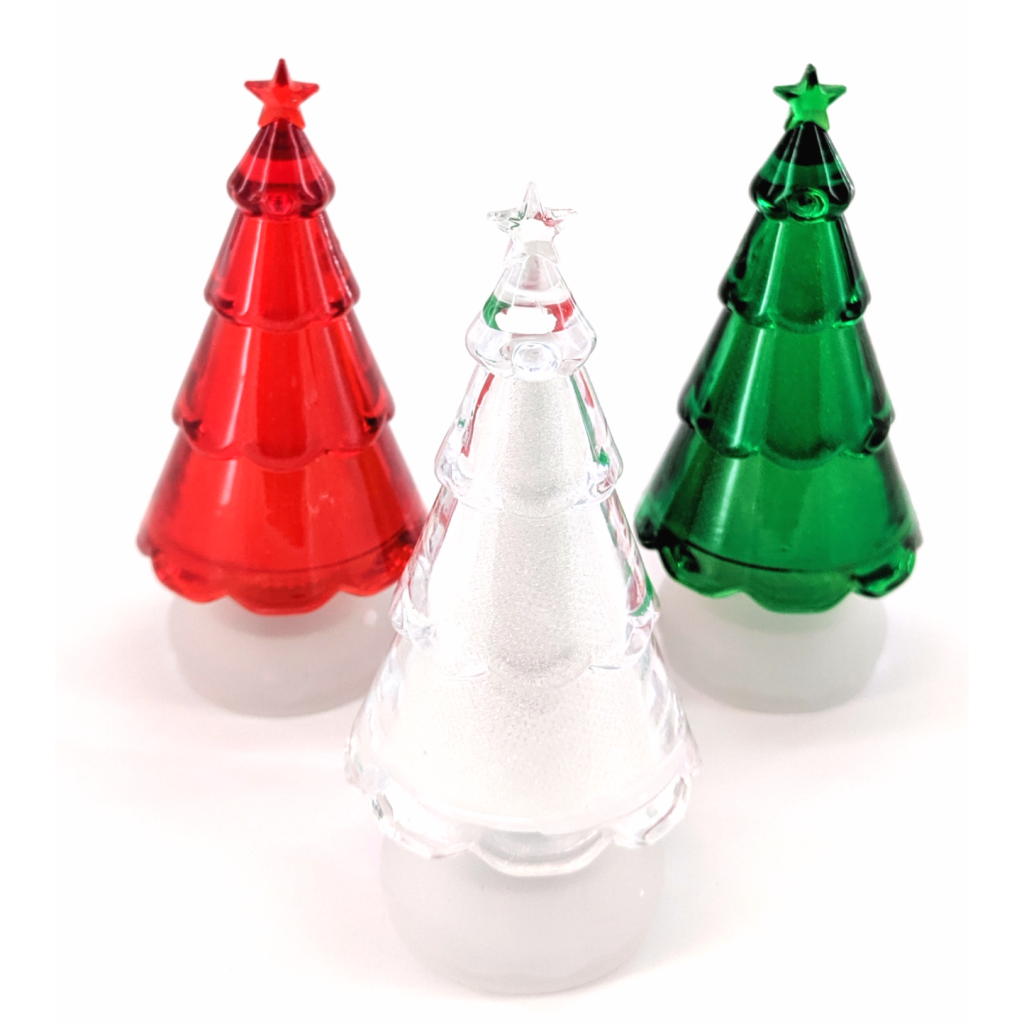 Light-Up Christmas Trees