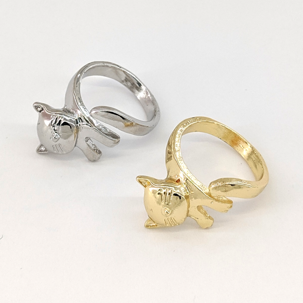 Adjustable Cat Ring