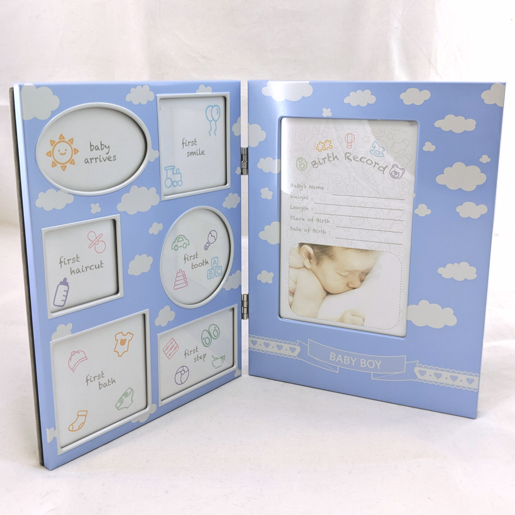 Baby Birth Record Frame
