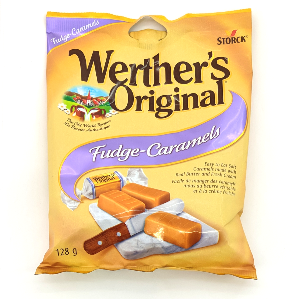 Werther's Original: Fudge Caramels (128g)