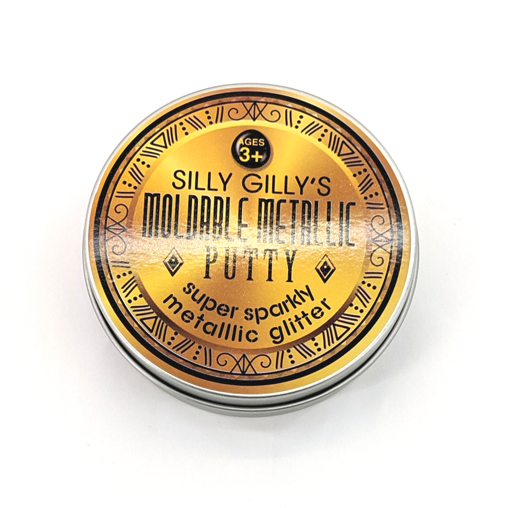 Silly Gilly's Moldable Metallic Putty