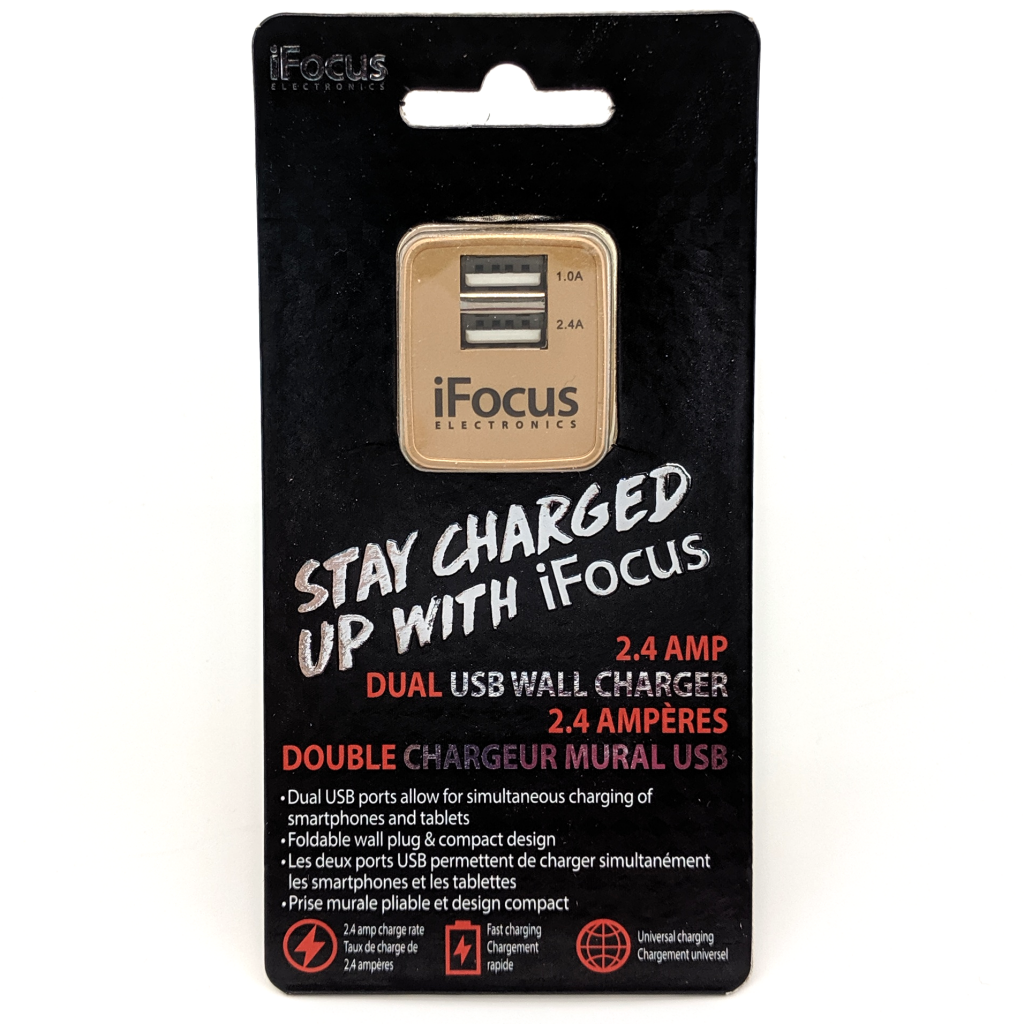 iFocus Dual USB Wall Charger