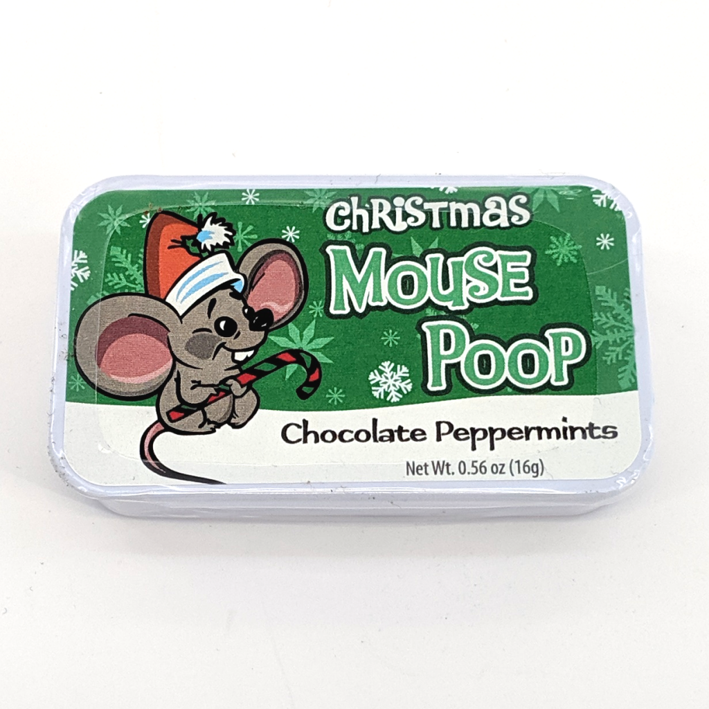 Mouse Poop Chocolate Peppermints (16g)