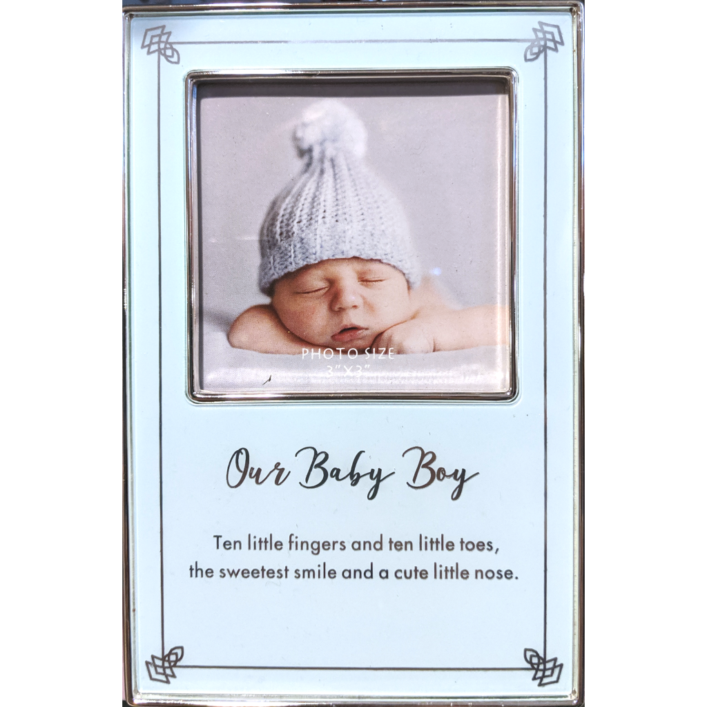 Our Baby Boy Picture Frame