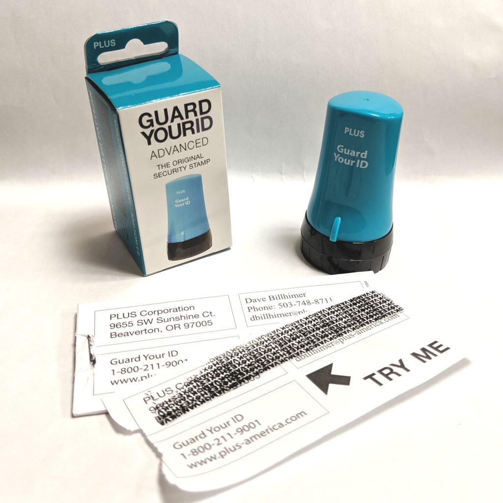 Guard Your ID Security Stamp