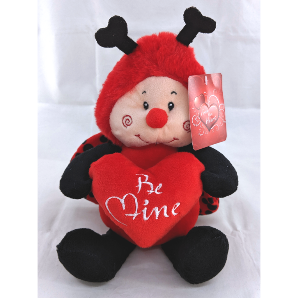 Be Mine Ladybug Plush