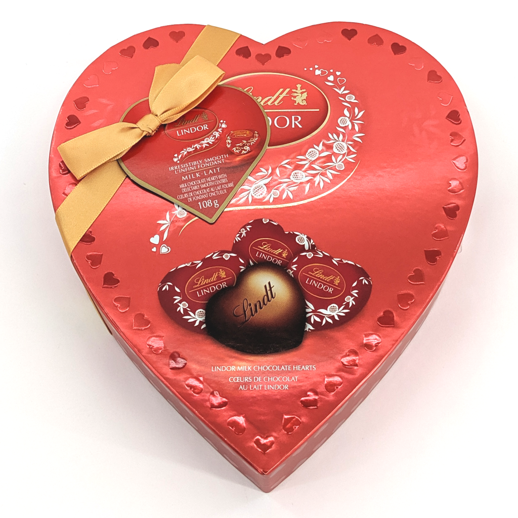 Lindor Milk Chocolate Hearts (108g)