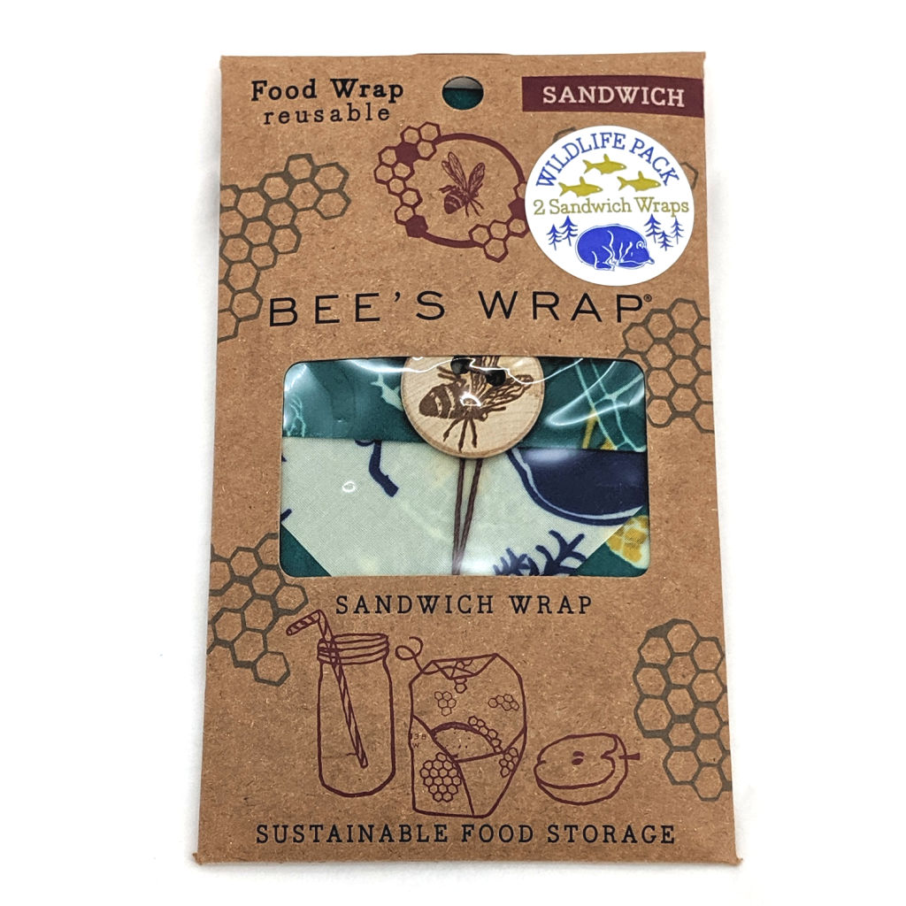 Bee's Wrap: Reusable Sandwich Wrap (2-Pack)