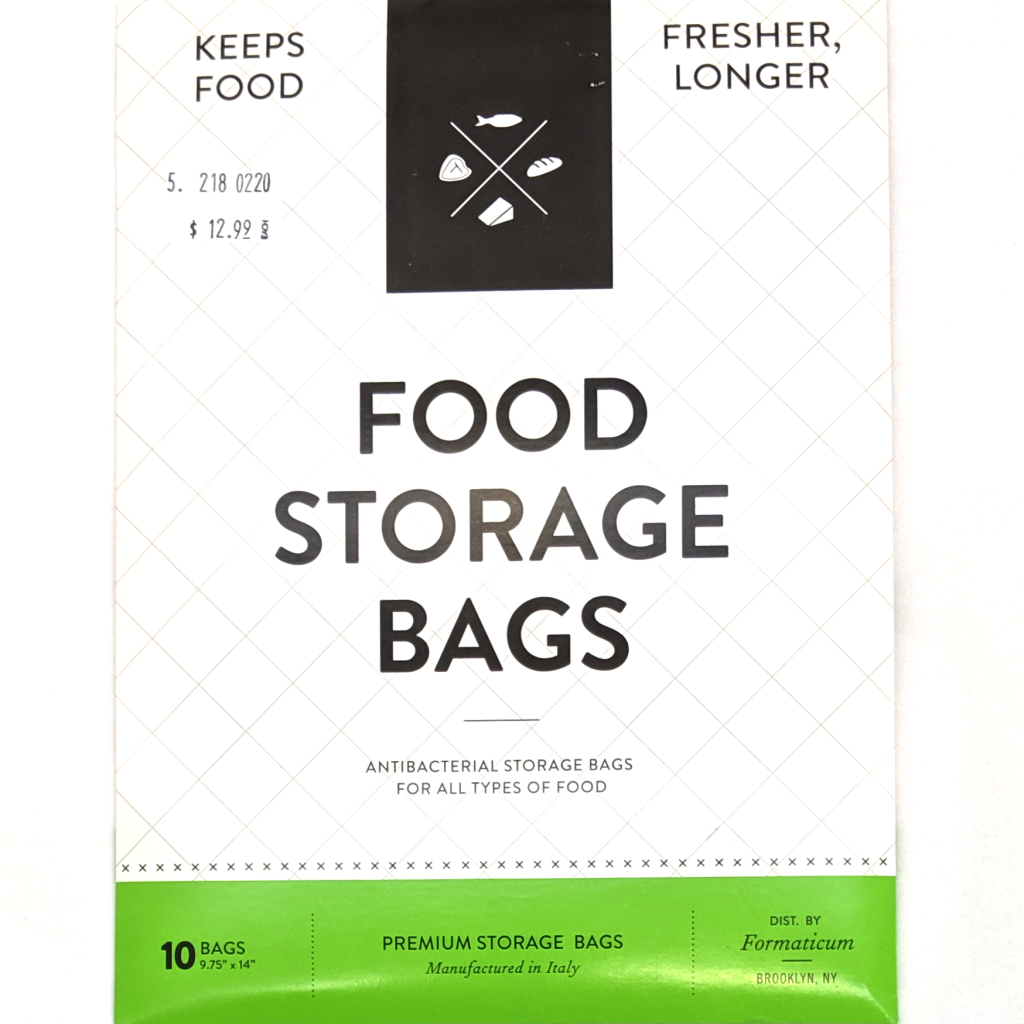 Food Storage Bags (10-Pack)