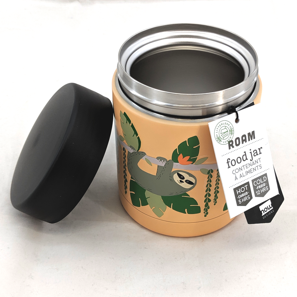 Roam Food Jar: Sloths (350ml)