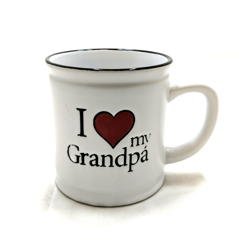 I Heart My Grandpa Mug