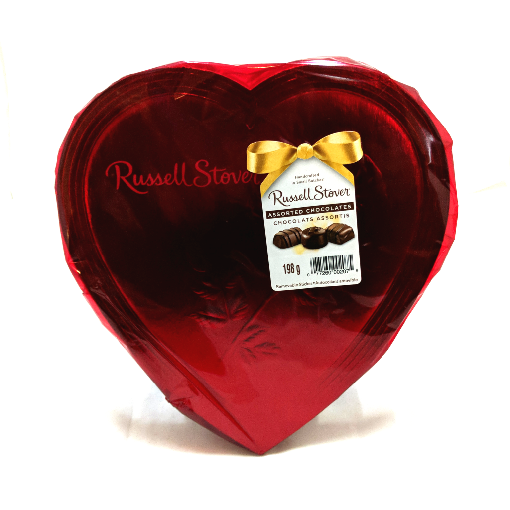 Russell Stover Assorted Chocolates Heart (198g)