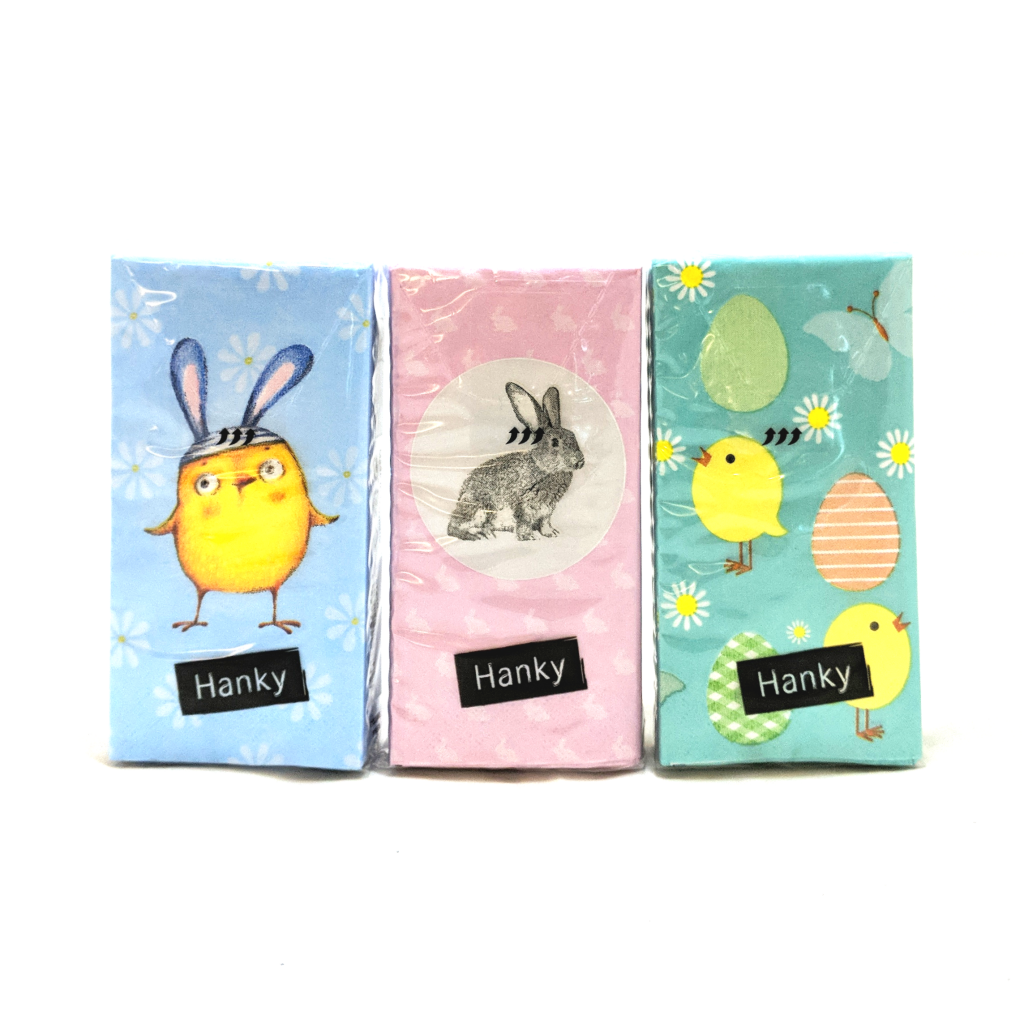Easter Tissue Travel Packs