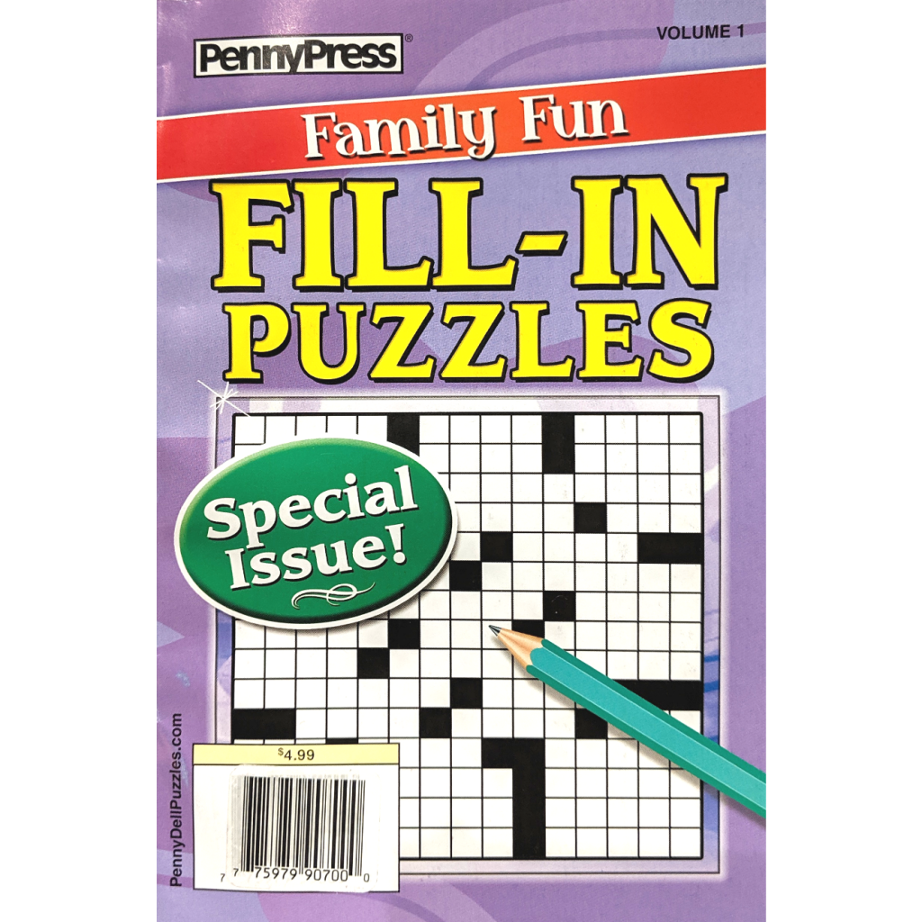 Fill-In Puzzles