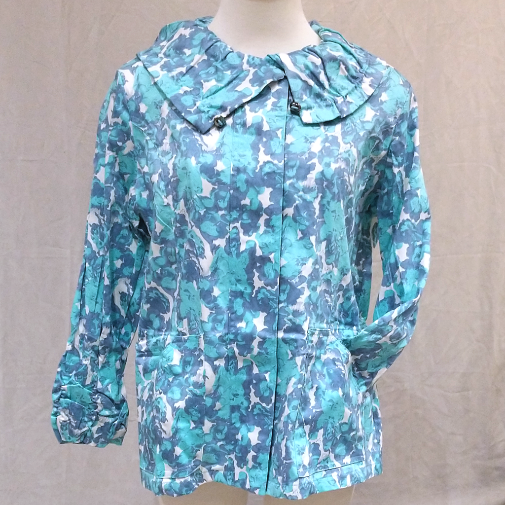 Spring Jacket: Blue Flowers