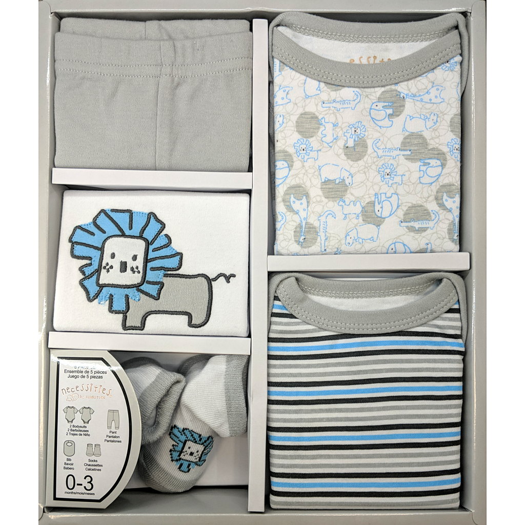 5 Piece Newborn Gift Set