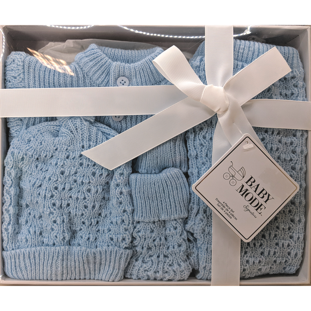 Baby Mode Knit Gift Set