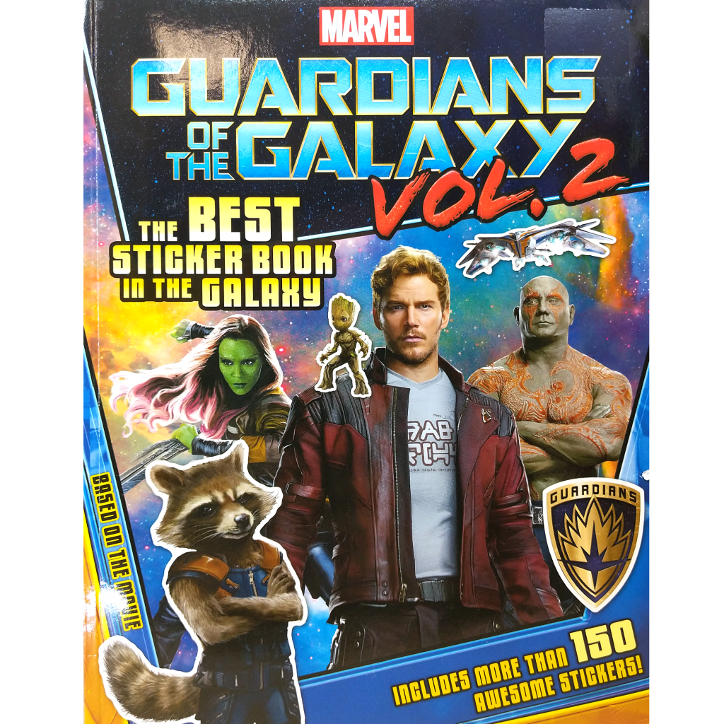 Guardians of the Galaxy 2: The Best Sticker Book in the Universe