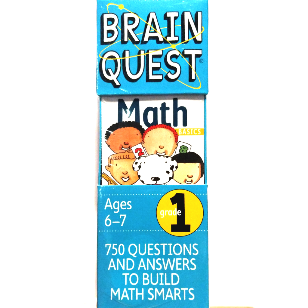 Brain Quest: Math (Grade 1)