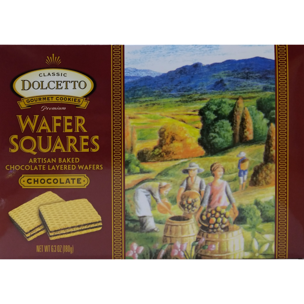 Chocolate Wafer Squares (180g)