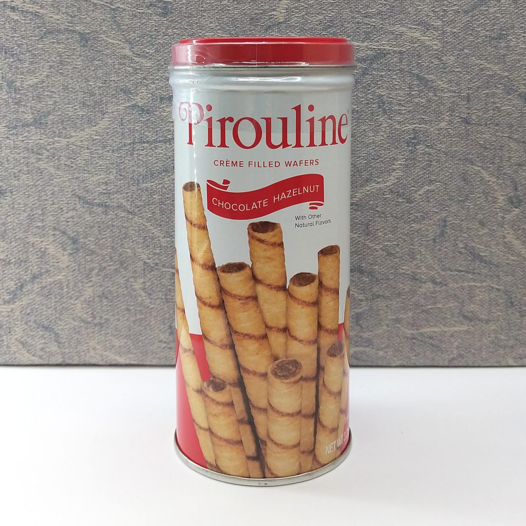 Pirouline Chocolate Hazelnut Crème-Filled Wafers (92g)