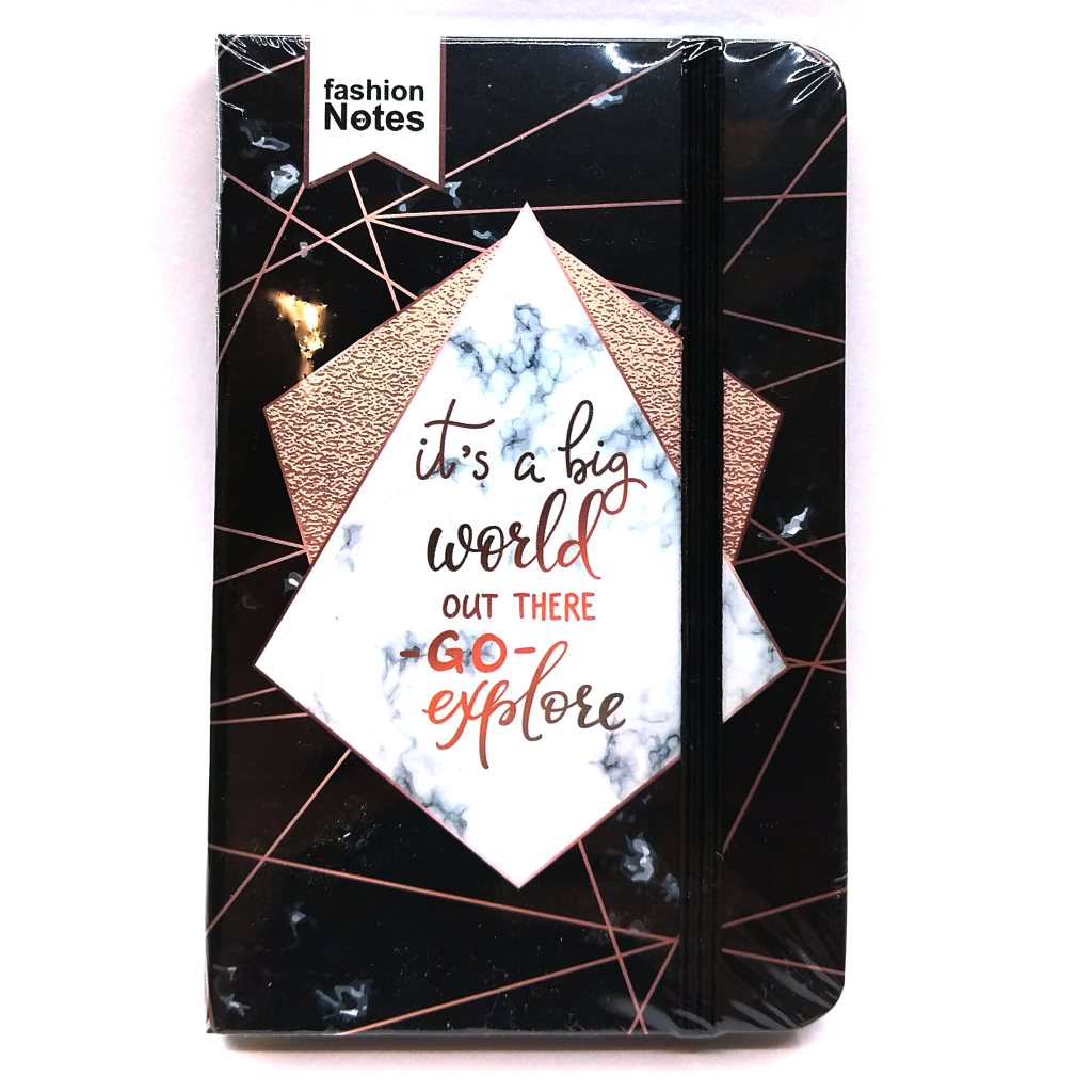 It's A Big World Out There Pocket Notebook
