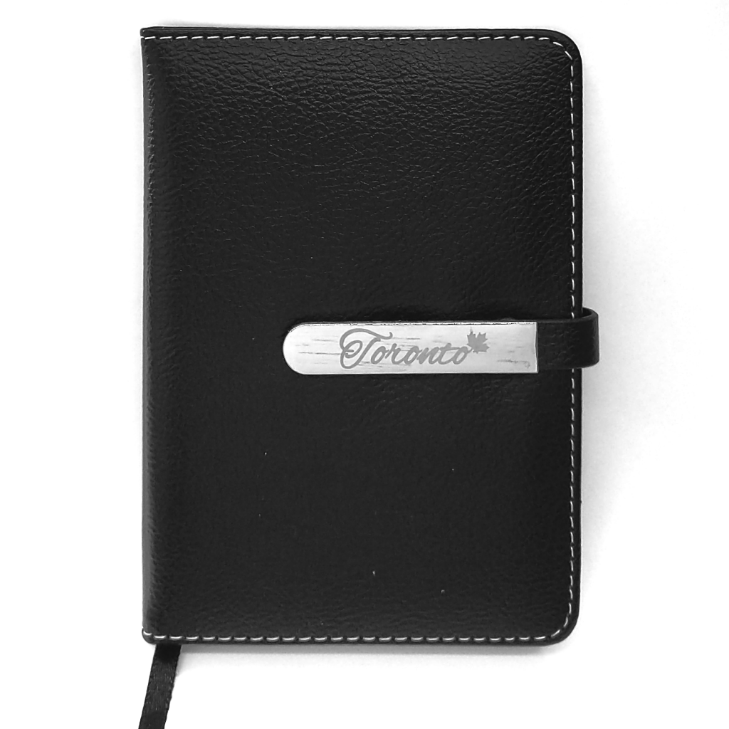 Toronto Faux Leather Mini Notebook