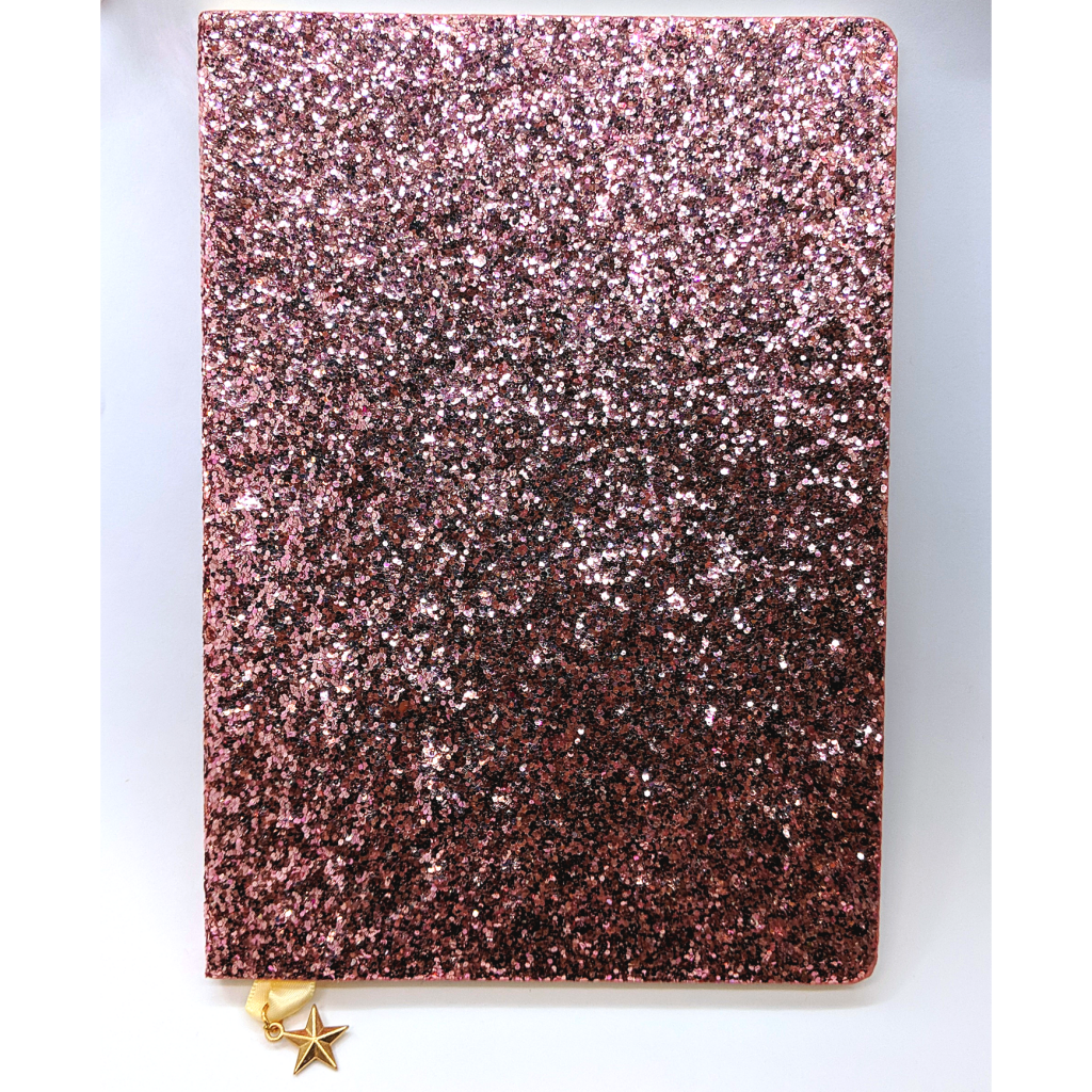Pink Sequin Notebook