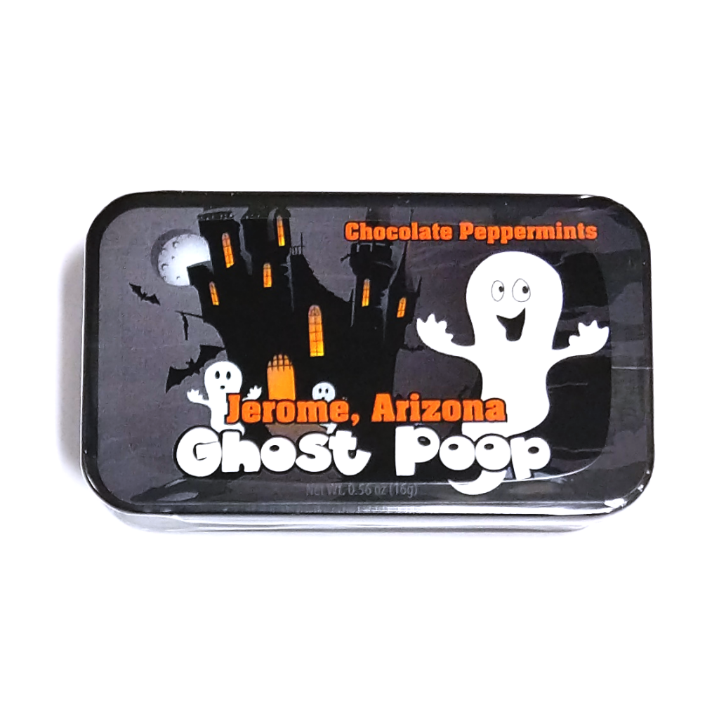 Jerome, Arizona Ghost Poop Chocolate Peppermints (16g)