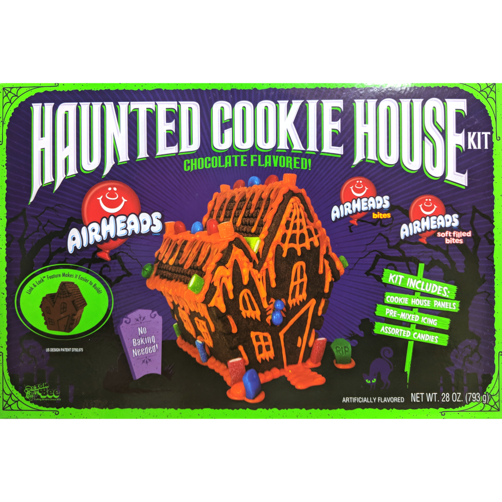 Haunted Chocolate Cookie House Kit (793g)