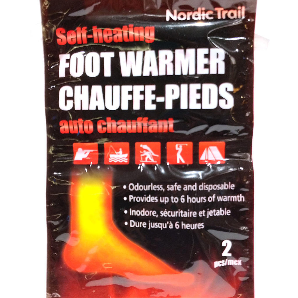 Self-Heating Foot Warmers (2 Pack)