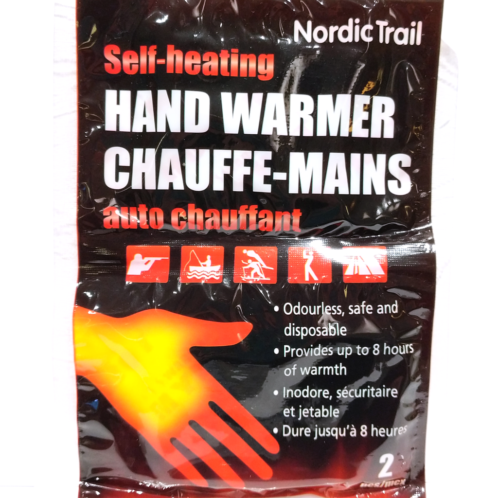 Self-Heating Hand Warmers (2 Pack)