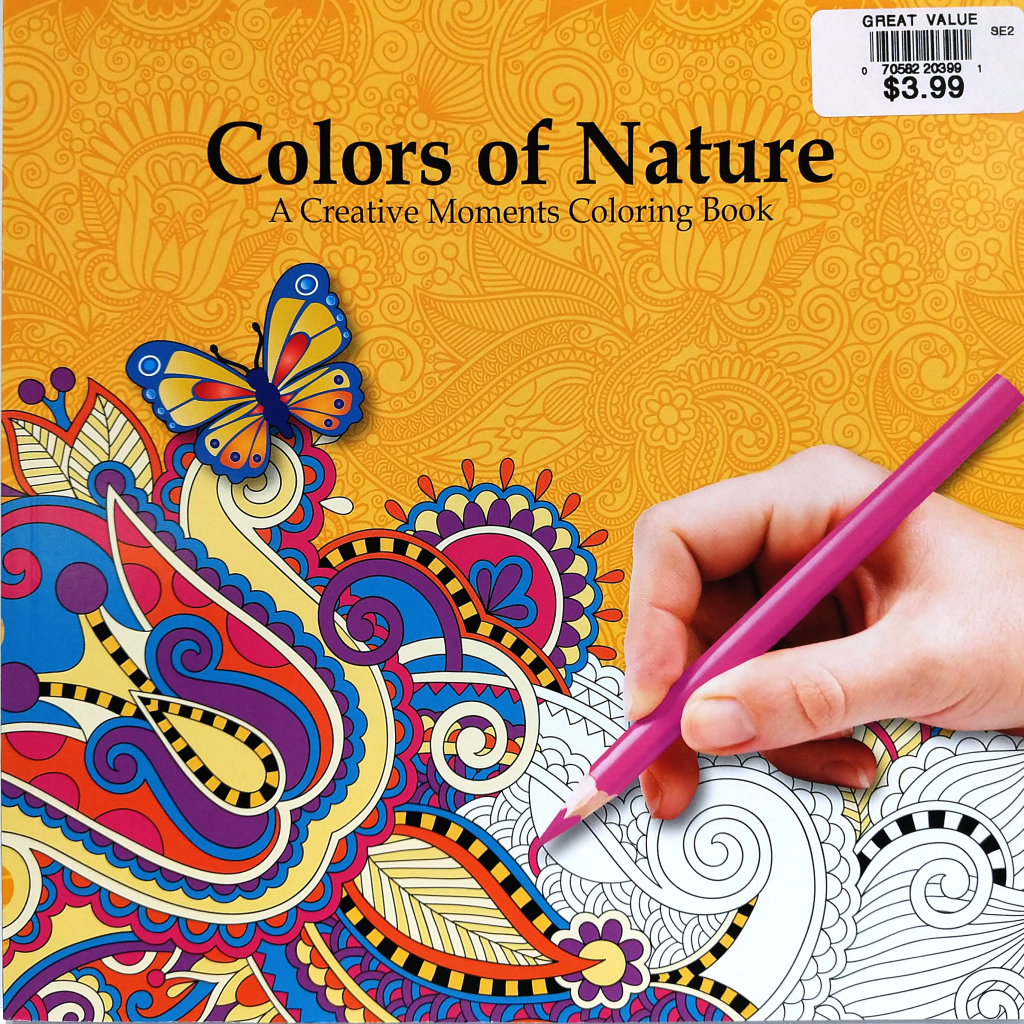 Colours of Nature: A Creative Moments Colouring Book