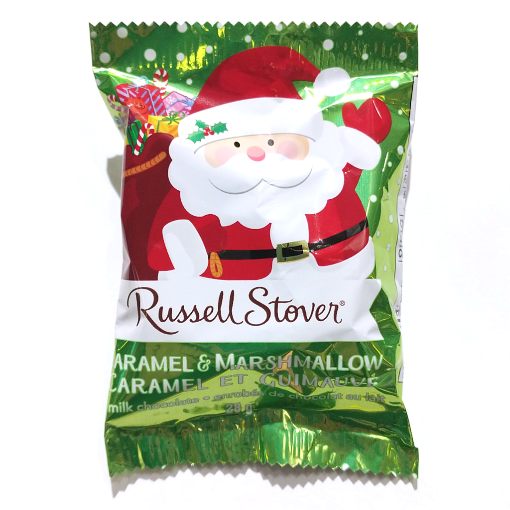 Russell Stover Santa Treat: Caramel & Marshmallow in Chocolate (28g)