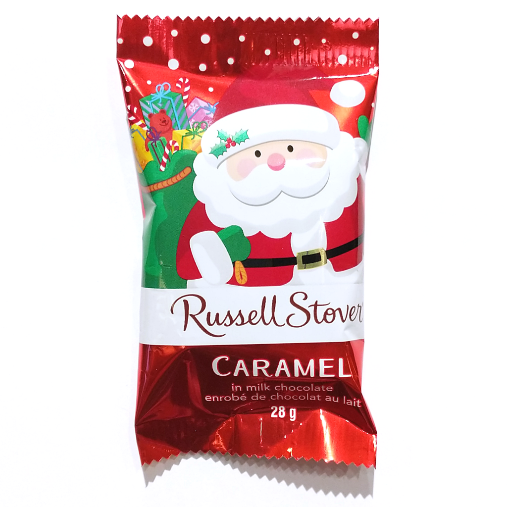 Russell Stover Santa Treat: Caramel in Milk Chocolate (28g)