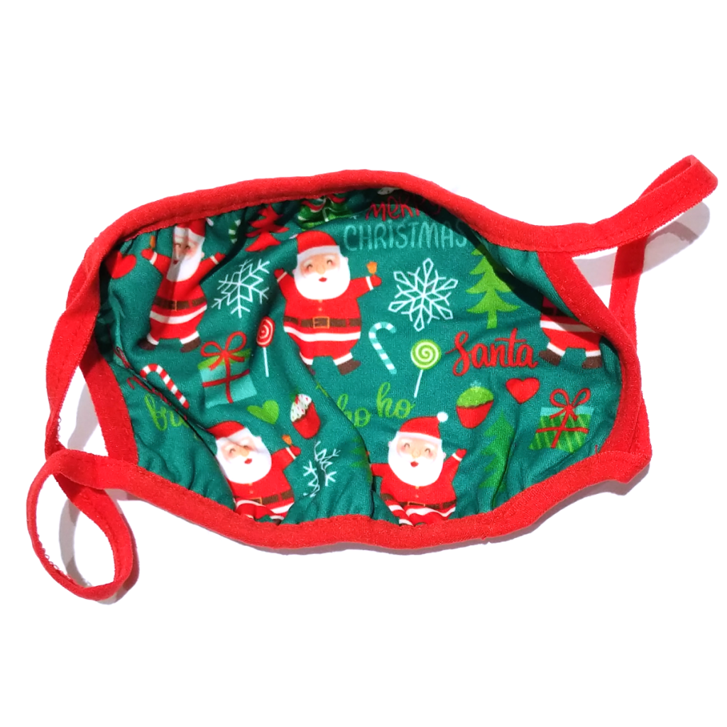 Kurt Adler Christmas Pattern Face Mask (Two Sizes)