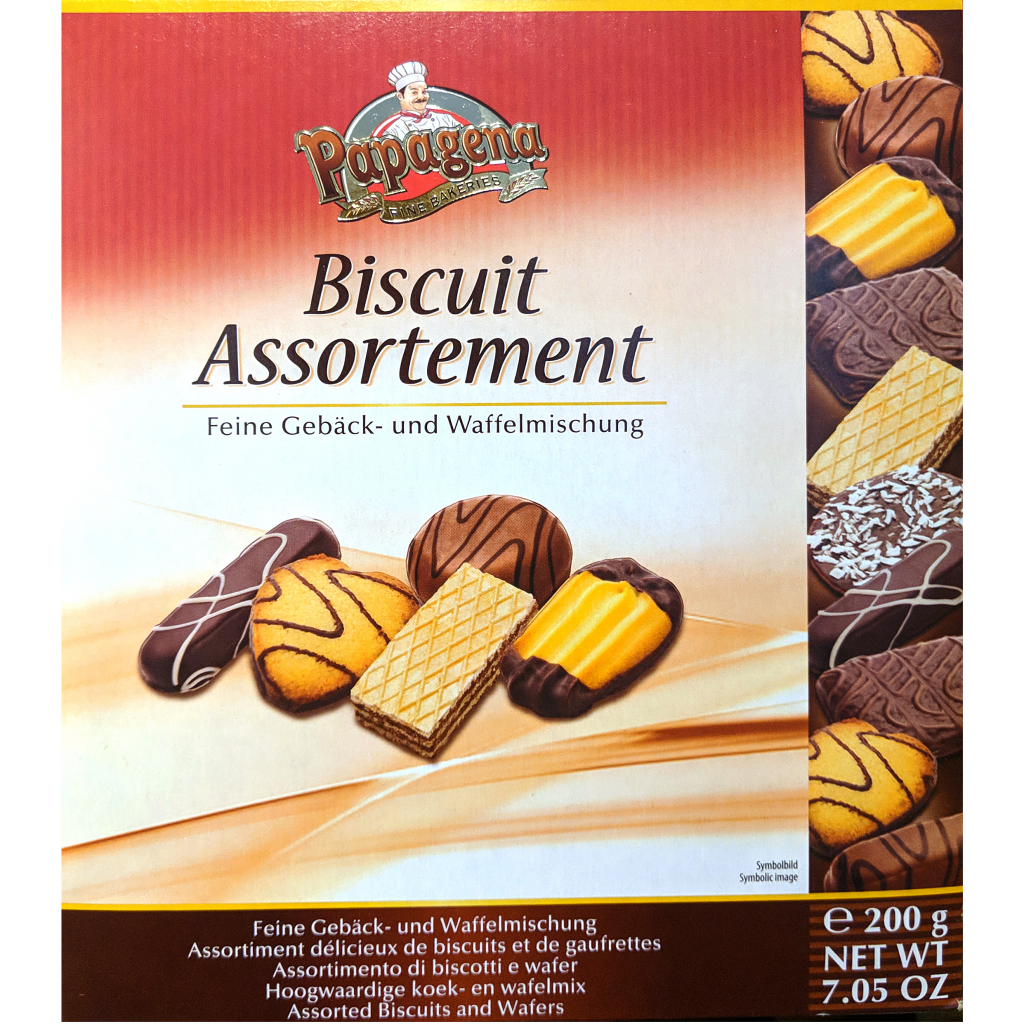 Papagena Assorted Biscuits (200g)