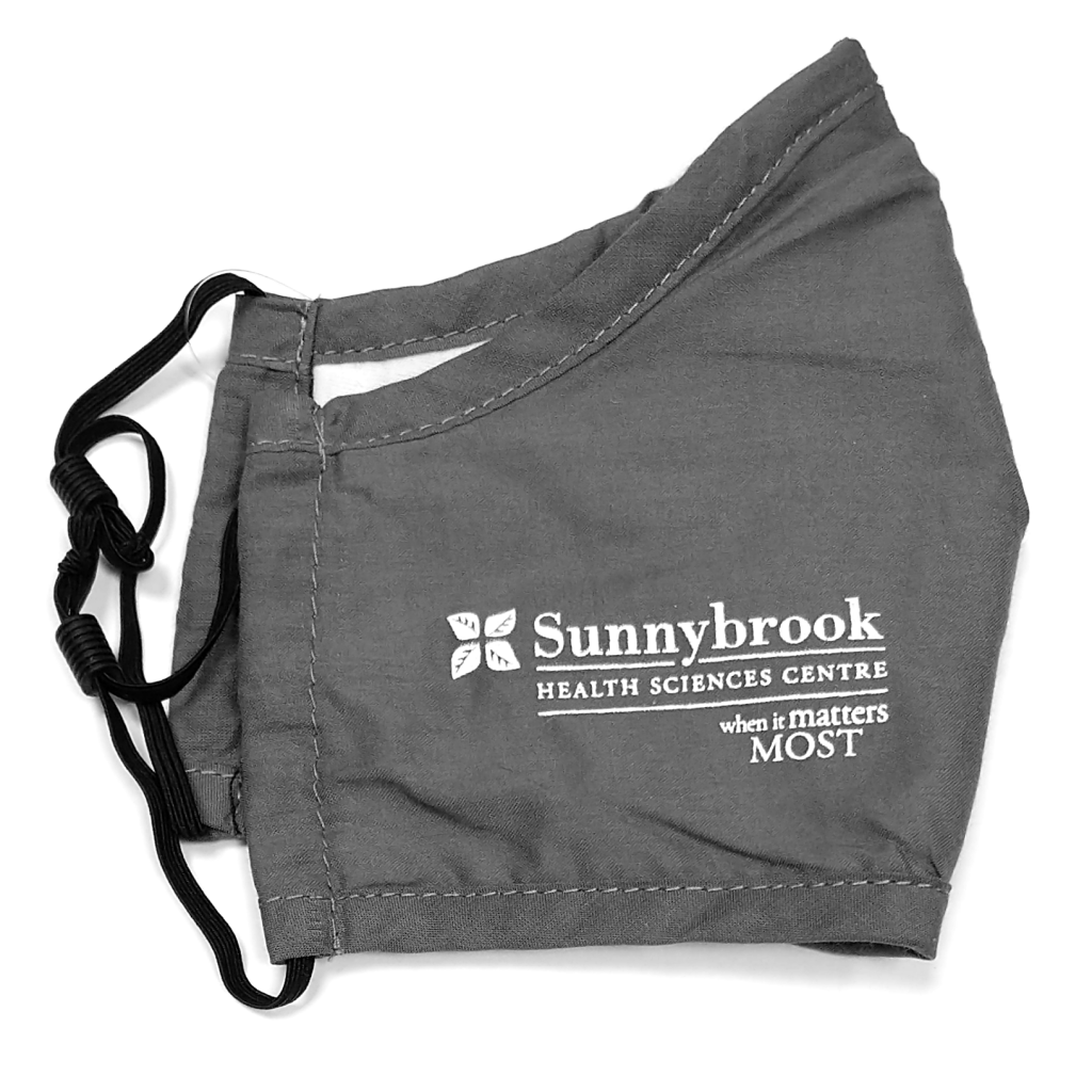 Sunnybrook When It Matters Most Mask (Various Colours)